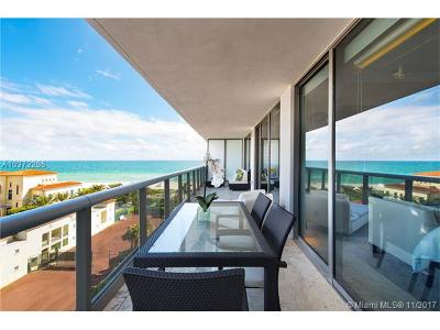 Miami Beach Condo For Sale: 5875 Collins Ave #805