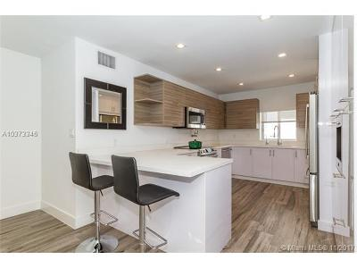 Bay Harbor Islands Condo Active With Contract: 1145 101st St #*