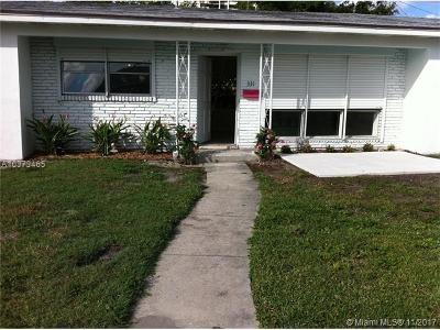West Palm Beach Single Family Home For Sale: 331 53rd St