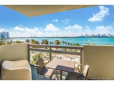 Miami Beach Condo For Sale: 1500 Bay Rd #622S