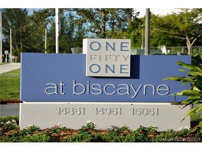 North Miami Condo For Sale: 14951 Royal Oaks Ln #1801