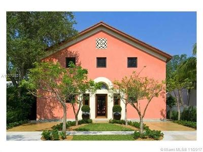 Coconut Grove Single Family Home For Sale: 2760 Kirk St