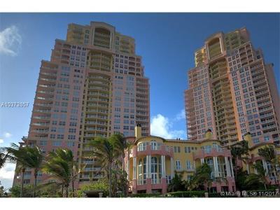Fort Lauderdale Condo For Sale: 2100 N Ocean Blvd #804