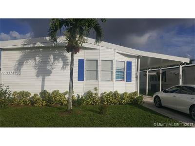 Davie Single Family Home For Sale: 1260 SW 116 Ave