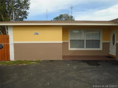 Miramar Single Family Home For Sale: 3921 E Lake Rd