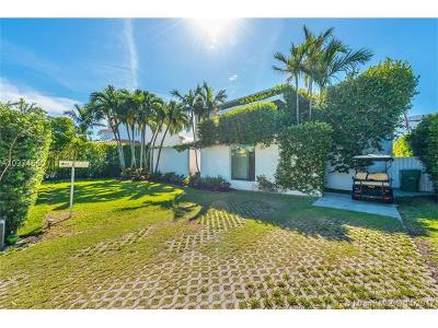 Key Biscayne Single Family Home For Sale: 260 Ridgewood Rd