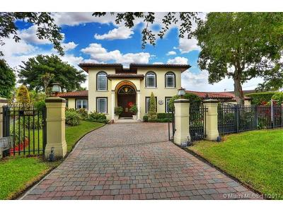 Coral Gables Single Family Home For Sale: 4801 Orduna Dr