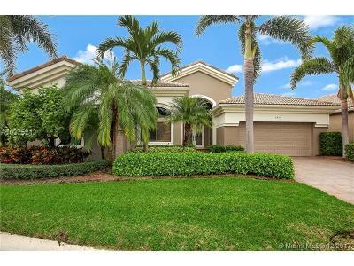 West Palm Beach Single Family Home For Sale: 7431 Blue Heron Way