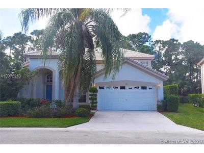 Palm Beach County Single Family Home For Sale: 314 Timberwood Ct