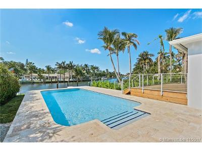 Miami Single Family Home For Sale: 1100 Belle Meade Island Dr
