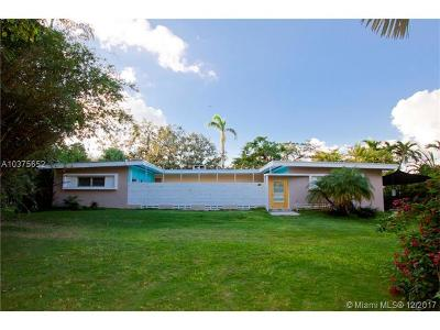 Miami Single Family Home For Sale: 7600 SW 69th Ave