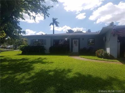 Plantation Single Family Home For Sale
