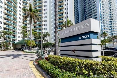 Hollywood Condo For Sale: 3001 S Ocean Dr #1003