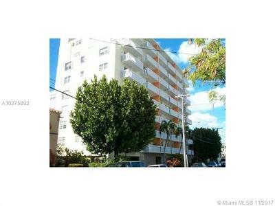 Miami Beach Condo For Sale: 7620 Carlyle Ave #303