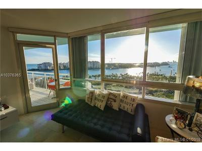 Miami Beach Condo For Sale: 400 S Pointe Dr #1107