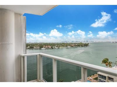 Miami Beach Condo For Sale: 900 Bay Dr #925