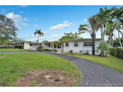 South Miami Single Family Home For Sale: 5923 SW 65 Ave
