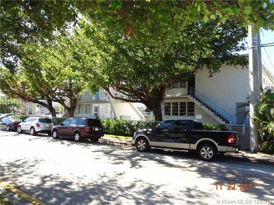 Miami Beach Condo For Sale: 4710 Pine Tree Dr #33