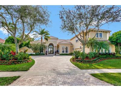 West Palm Beach Single Family Home For Sale: 8521 Egret Lakes Ln