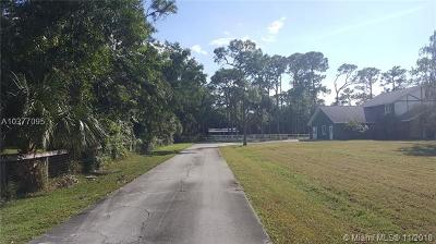 Loxahatchee Single Family Home For Sale: 13346 Casey Rd