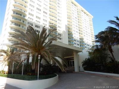 Fort Lauderdale Condo For Sale: 3400 Galt Ocean Dr #2103N
