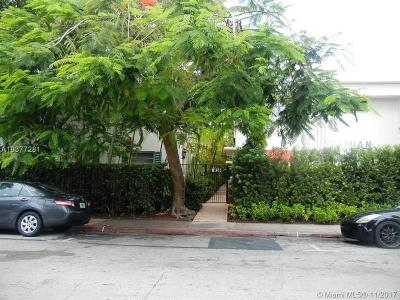 Miami Beach Condo For Sale: 1616 Michigan Ave #18