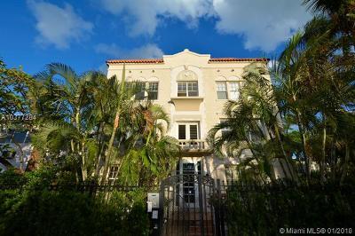 Miami Beach Condo For Sale: 1611 Michigan Ave #5