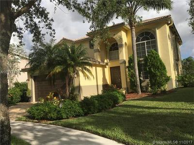 Coconut Creek Single Family Home For Sale: 6350 Osprey Ter