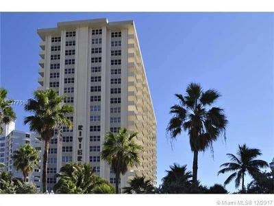 Fort Lauderdale Condo For Sale: 3550 Galt Ocean Dr #504
