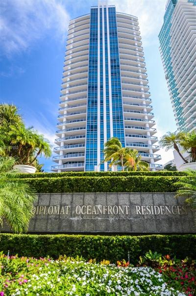 Hollywood Condo For Sale: 3535 S Ocean Drive #2006