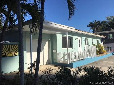 Fort Lauderdale Single Family Home For Sale: 2708 N Ocean Blvd