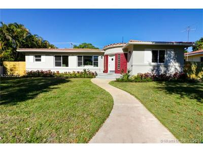 Miami Shores Single Family Home For Sale: 121 NE 96th St