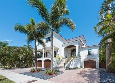 Miami, Miami Beach Single Family Home For Sale: 3535 E Fairview