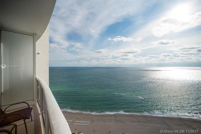 Sunny Isles Beach Single Family Home For Sale: 18001 Collins Ave #2711