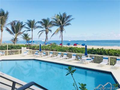 Pompano Beach Condo For Sale: 1500 N Ocean Blvd #603