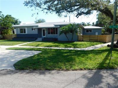 Miami Shores Single Family Home For Sale: 750 NE 97th St