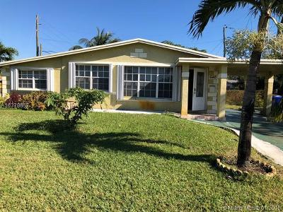 Fort Lauderdale Single Family Home For Sale: 1840 NW 26th Ave