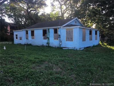Fort Lauderdale Single Family Home For Sale: 812 SW 29th St