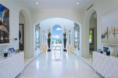 Miami Beach Single Family Home For Sale: 4330 N Bay Rd
