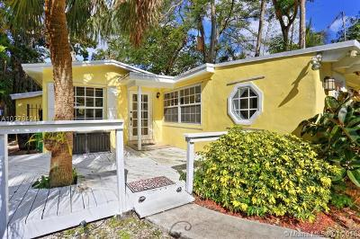 Coconut Grove Single Family Home For Sale: 3841 Kumquat Ave
