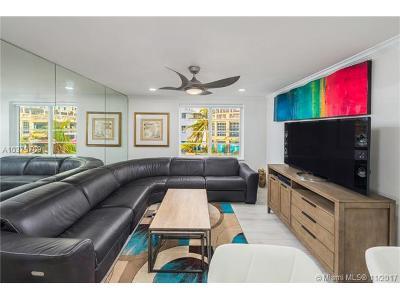 Miami Beach Condo For Sale: 1460 Ocean Dr #305