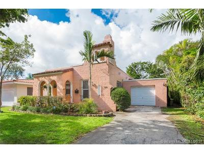 Coral Gables Single Family Home For Sale: 1124 Ferdinand St