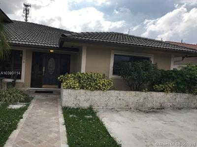 Miami Single Family Home For Sale: 104 NW 136th Pl