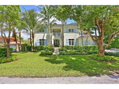 Coral Gables Single Family Home For Sale: 1431 Coruna Ave