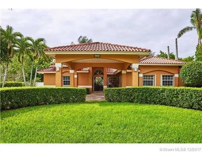 Single Family Home Backup Contract-Call LA: 12200 SW 100th St