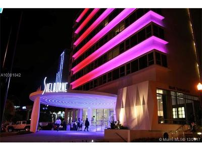 Miami Beach Condo For Sale: 1801 Collins Ave #630