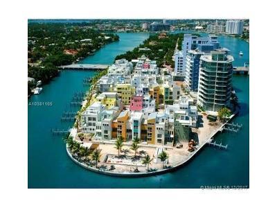 Miami Beach Condo For Sale: 6103 Aqua Ave #702
