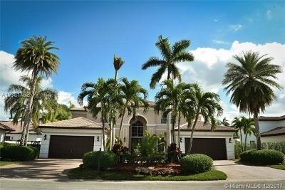 Pembroke Pines Single Family Home For Sale: 625 W Enclave Cir W