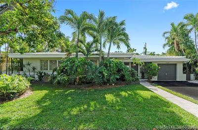 Coral Gables Single Family Home For Sale: 1540 Miller Rd