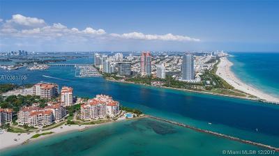 Miami Beach Condo For Sale: 100 S Pointe Dr #3804